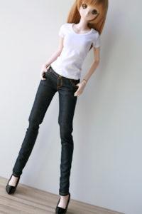 「The Denimu」白Tシャツスタイル