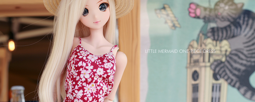 スマートドール用ワンピース「The Little Mermaid one-piece dress」
