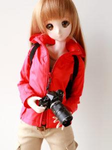 フリップレインジャケット カメラスタイル