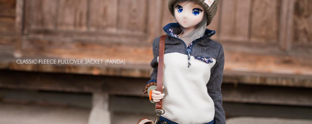 フリースプルオーバージャケット(PANDA)